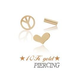 237180 - <ER542-GJ14> [Single sale] [10K Gold] basic piercing