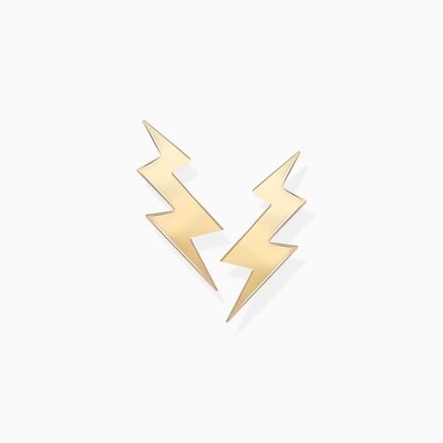 1046241 - <ER1456_GH21> [10K Gold] Mini Lightning Earrings