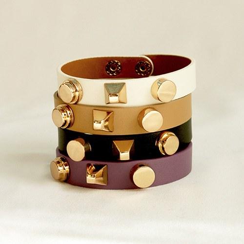 1047188 - <BC737_HB08> modern marcia leather bracelet
