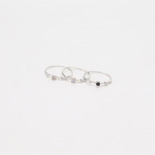 1046723 - <RI767_JJ15> [Silver] Zipper ring