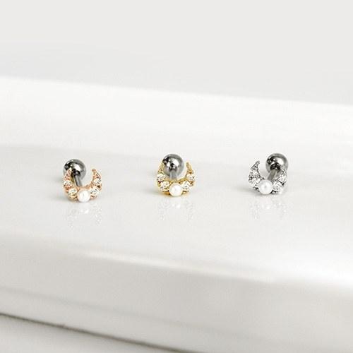 1047208 - <ER1791_GL11> Lunaris Pearl Piercing