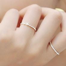 228301 - <SL361-AE07> [Silver] Mild sausage chain ring