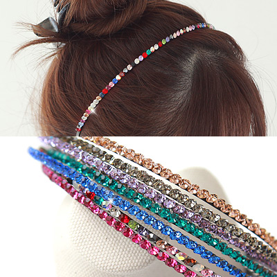 1043387 - <HA378-FE04> twinkle cubic hairband