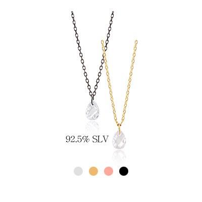 1044019 - <NE274_BE07> [Silver] Dide choker necklace