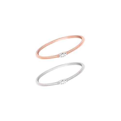 1044893 - <RI638_JA13> [Silver] Ford slim ring