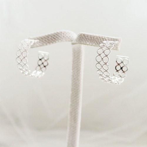 1047055 - <ER1723_DF19> [TVN hundreds of star sponsors from the sky] [Silver Post] Granary earrings