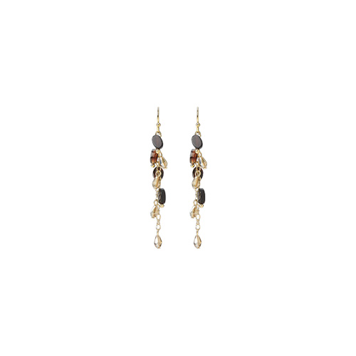 1047234 - <ER1797_DI03> [clip type] [handmade] Ariel earrings