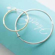 223486 - <PC140-CF05> [spring] basic ring earrings