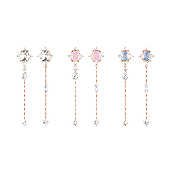 1047224 - [Silver Post] Isabel cubic drop earrings