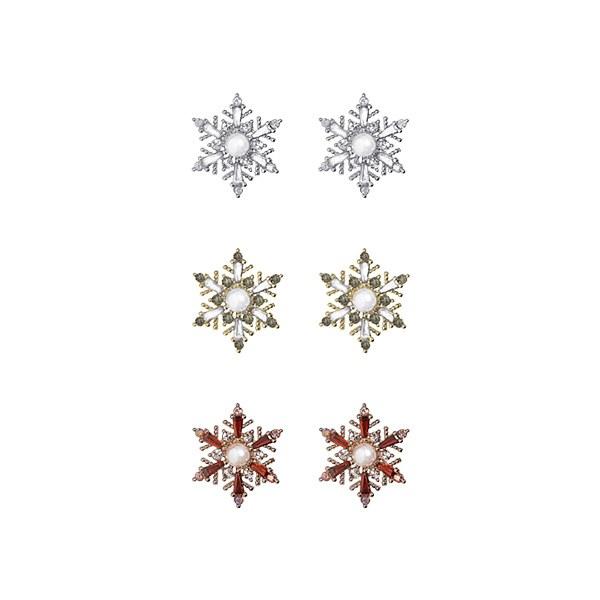 1047236 - <ER1801_DJ20> [clip type] Winter node earrings