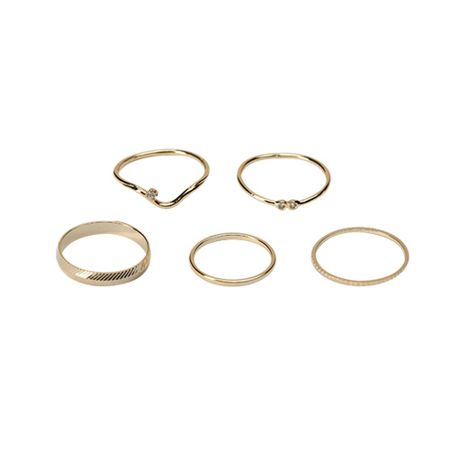 1047270 - [5Piece 1set] Tina El set ring