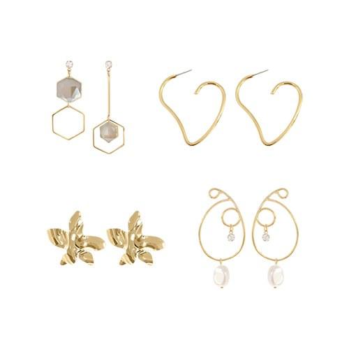1047178 - <ER1775_CA09> Manny Gold earrings