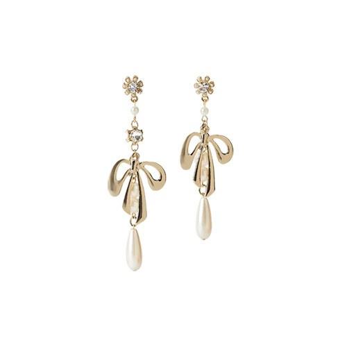 1047290 - <ER1823_CH15> [clip type] pearl earrings