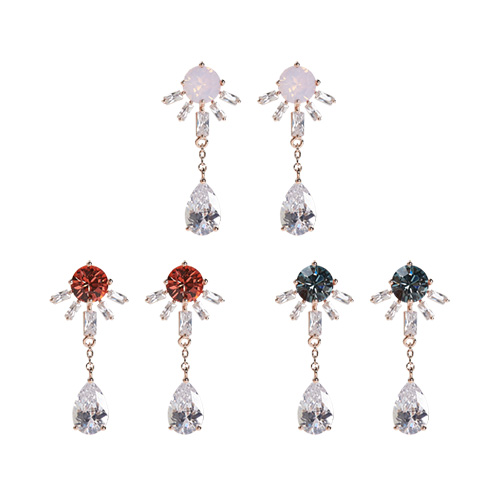 1047291 - <ER1819_DL03> [clip type] apple earrings
