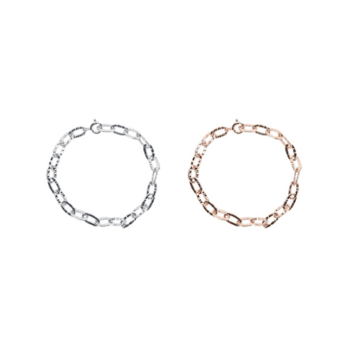 1047303 - Hashed chain bracelet