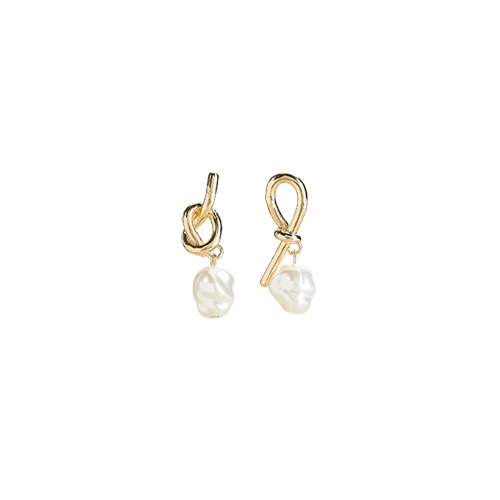 1047323 - Nude pearl earrings