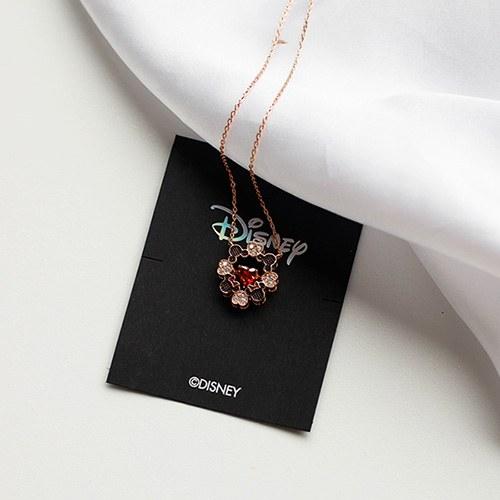 1049363 - <NE589_IG16> [Disney Genuine] Mickey Mini heart necklace