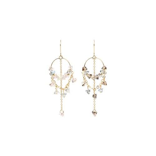 1046777 - <ER1618_CD16> Anthony cubic earrings