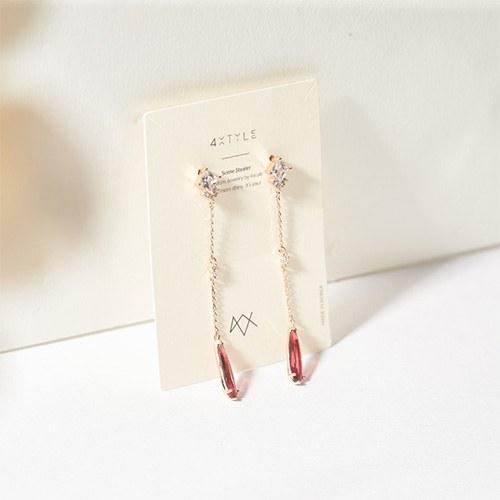 1047353 - <ER1848_CC13> [clip type] vis nu cubic earrings