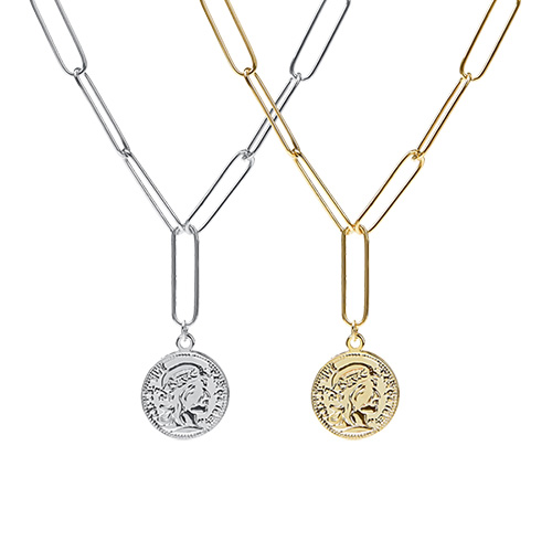 1047383 - Aria coin chain necklace