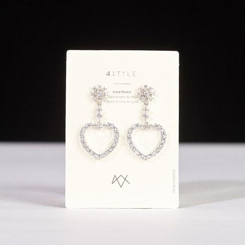 1047387 - <ER1857_DE02> [clip type] otomel heart earrings