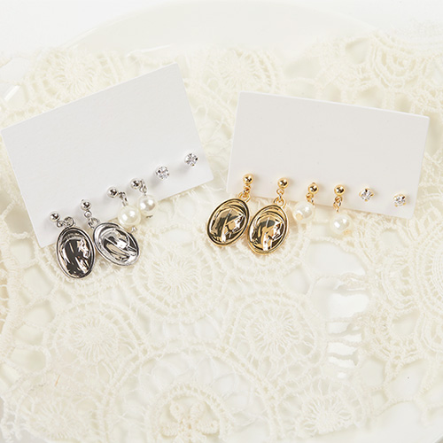 1047404 - <ER1877_CG13> [6Piece 1set] Marianne earrings