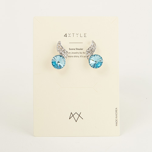 1047421 - [Swarovski] [Silver Post] Swarovski lucy earrings