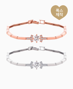 1046053 - <BC699_S> [SOLD OUT] Bailey square line bracelet
