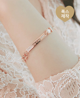 1046136 - <BC701_HG05> New York key luxury bracelet
