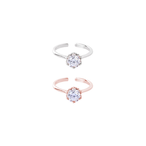 1046527 - <RI760_AC15> [Same day delivery] Brenda cubic ring