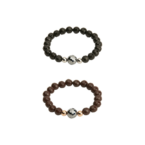 1046790 - <BC718_HA11> Terra Hertz Rare Earth Couples bracelet
