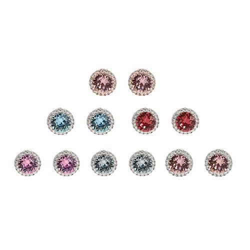 1047433 - <ER1895_IG02> [Swarovski] [Silver Post] Laford Swarovski earrings