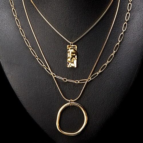1047436 - <NE525_BB10> [3Piece 1set] Mauve's necklace