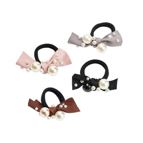 1047468 - Lobie ribbon pearl ponytail