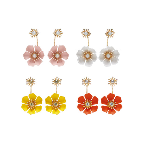 1047474 - Wozon Flower earrings