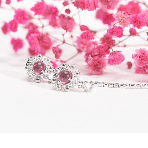 1047484 - [Silver Post] again spring earrings