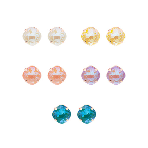 1047516 - <ER1913_DL05> [Swarovski] [Silver Post] Amel Swarovski earrings
