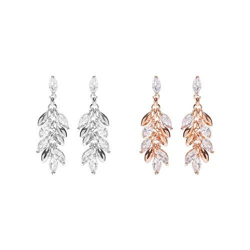 1047527 - [clip type] Oliver Leaf earrings