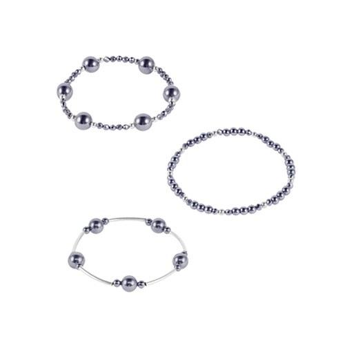 1047538 - <BC764> Terahertz layered bracelet 3bell