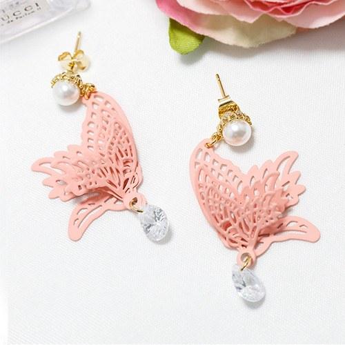 1047575 - <ER1930_DB18> M butterfly earrings