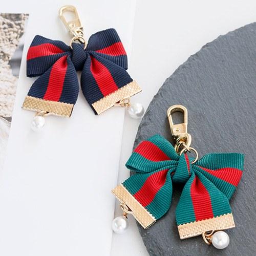 1047580 - <AP0045> [handmade] cute ribbon Air Patch Keyring