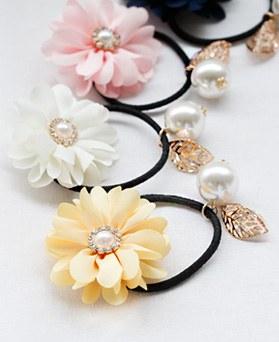 1047597 - <HA664_EG06> sunny Flower pearl ponytail
