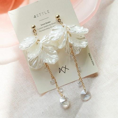 1047643 - <ER1936_CD06> [clip type] Ari pearl long earrings