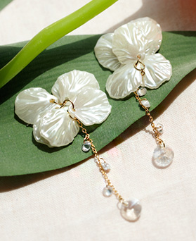 1047643 - <ER1936_CD06> [clip type] Ari pearl long earrings