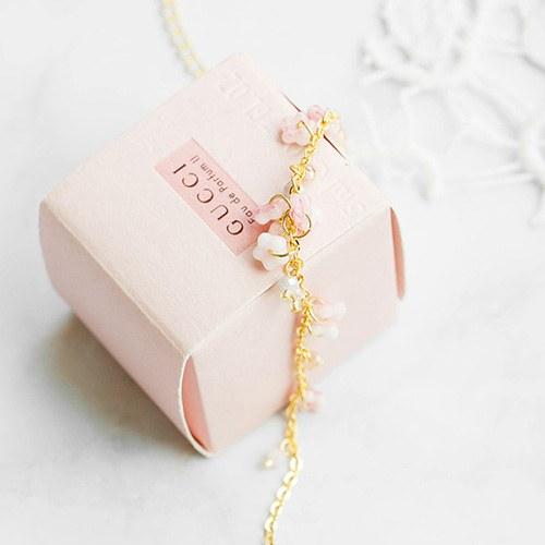 1047664 - <BC760_ID01> [handmade] Cherry blossom bracelet