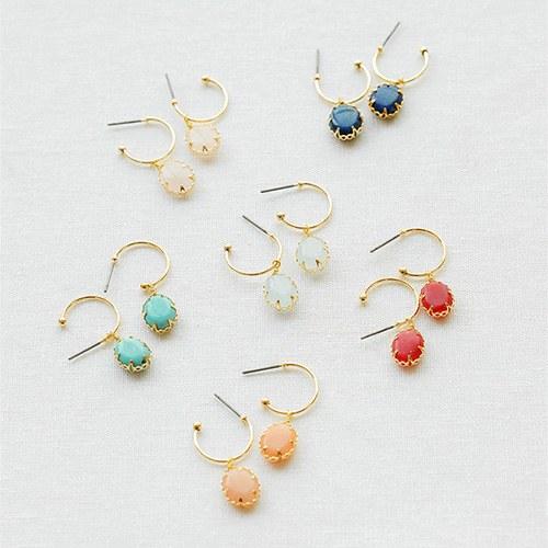 1047674 - <ER1944_IG05> fine gemstone earrings