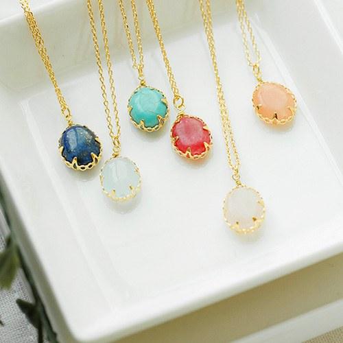 1047675 - <NE531_IG05> fine gemstone necklace