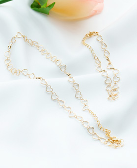 1047689 - <JS322_IC02> [necklace + bracelet] Komi heart set