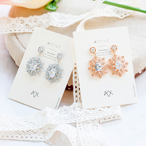 1047779 - <ER1957_DC24> [clip type] adore crystal earrings