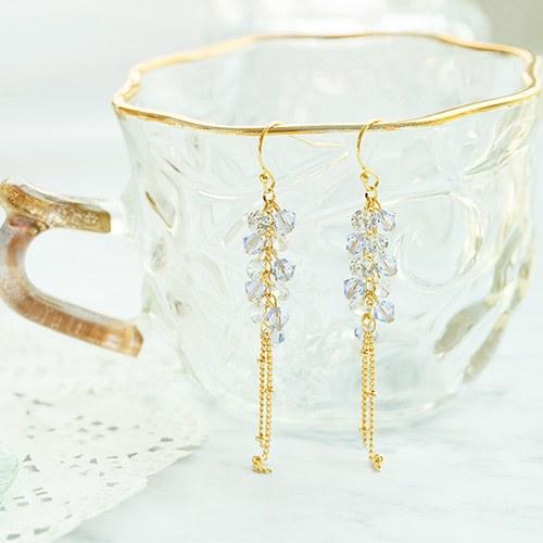 1047821 - <ER1945_IC05> [spring] crystal earrings
